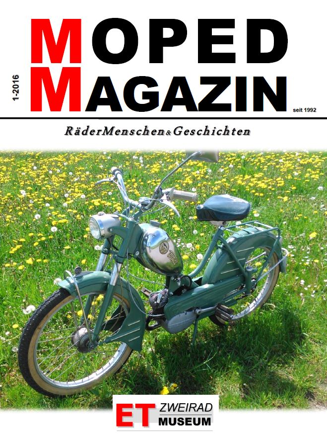 Moped Magazin 1-2016